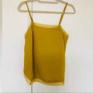 Abercrombie camisole yellow Lacy